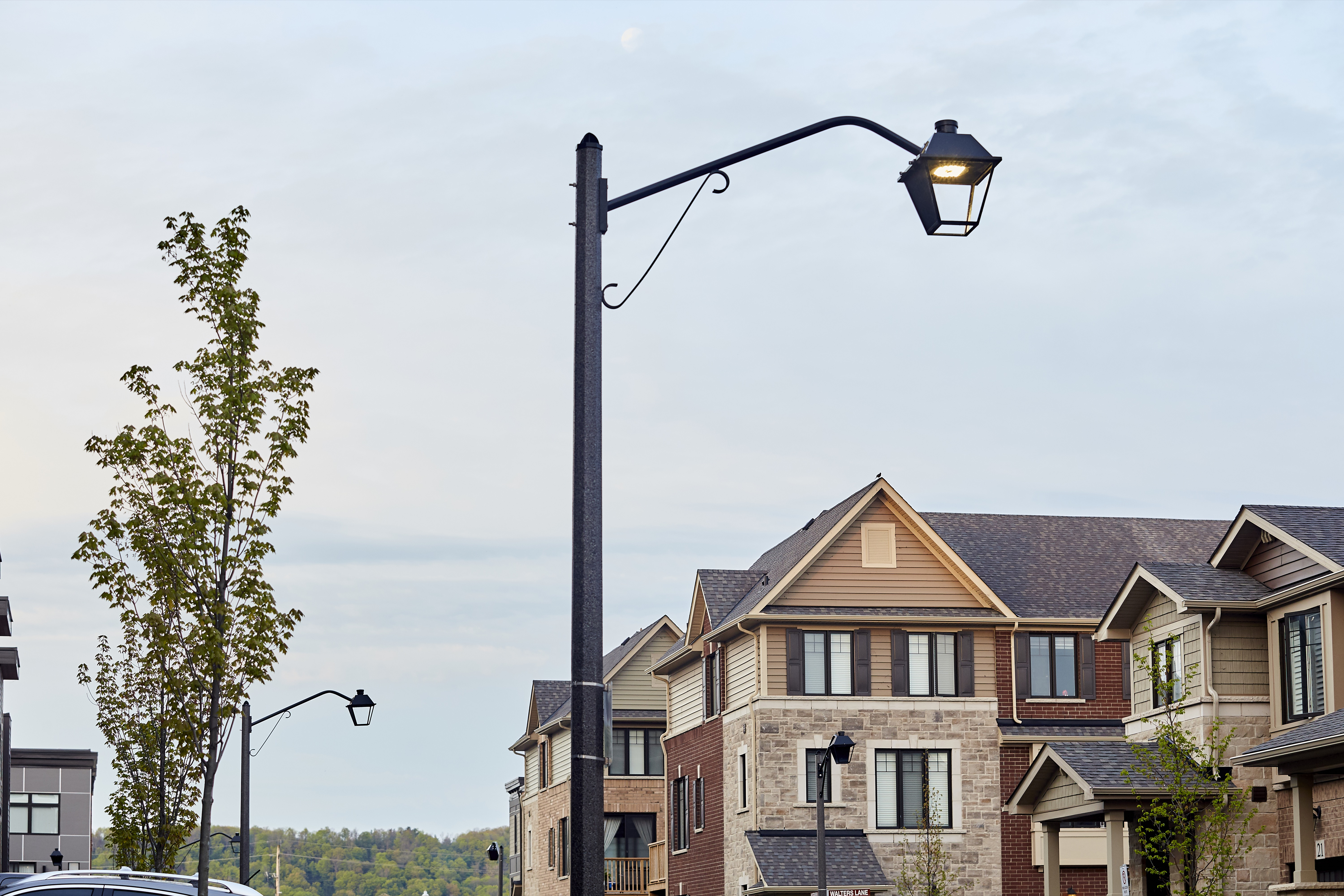 K601D Coach Lantern Installation Photo in Grimsby, ON