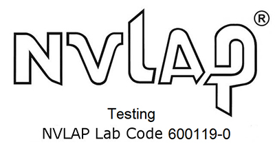 SCGPT Labs is NVLAP Accredited